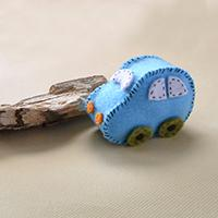 Children's Day Idea on How to Make Easy Felt Car for Kids