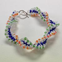 Handmade Jewelry Idea on How to Make Chic Seed Beads Bracelet for Girls