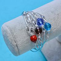 Easy Tutorial on How to Make a Multiple-strand Wire Wrapped Bracelet