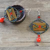 Pandahall Original DIY – Instructions on Making Chinese Style Seed Bead Lantern Drop Earrings