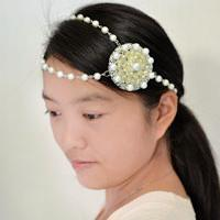 How to Make Pearl and Glass Beaded Hair Jewelry for Girls