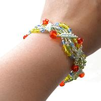Pandahall Tutorial on How to Make Colorful Glass Bead Bracelet for Girls