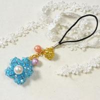 Easy Jewelry Making Ideas--How to Make Fresh Glass Beads Hanging Accessory