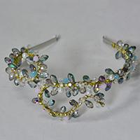 How to Make Handmade Bling Glass Beaded Headbands for Wedding