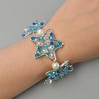 Pandahall Original DIY – Making Wire Wrap Star Bracelet with Glass Beads Decorated