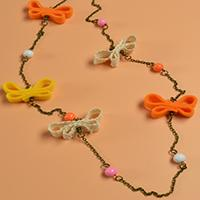 Easy DIY Project - How to Make a Handmade Butterfly Chain Necklace at Home