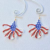 Pandahall Tutorial on How to Make Special American Seed Beads Earrings