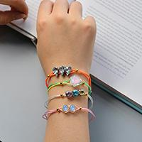How to Make Pretty Multi Bracelets with Nylon Thread and Mixed Beads
