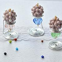 How to Make Wire Wrapped and Beaded Ice Creams for Home Decoration
