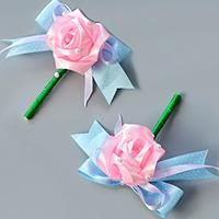 Pandahall Tutorial on How to Make Flower Ribbon Brooch for Wedding