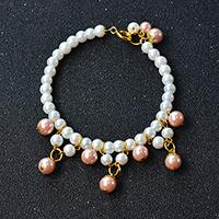 Pandahall Tutorial on How to Make Simple Yet Chic Pearl Beads Bracelet