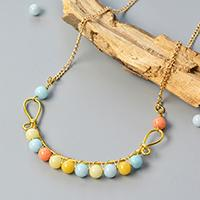 Pandahall DIY Project on How to Make Wire Wrapped Necklace with Jade Beads