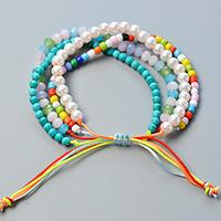 Easy Pandahall Tutorial - How to Make a Colorful Multi-strand Bracelet