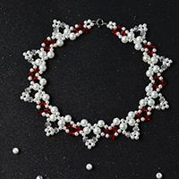 Pandahall Tutorial on How to Make Handmade Flower Beaded Choker Necklace