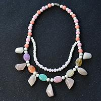 Pandahall Original DIY Project - How to Make Handmade Gemstone Bead and Jade Beaded Necklaces
