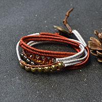 Pandahall Tutorial on How to Make Cord Braided Friendship Bracelet
