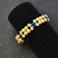 Detailed Tutorial on How to Make a Delicate Beaded 2-Strand Bracelet