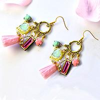 Easy Earring Designs – How to Make a Pair of Vintage Style Chandelier Earrings