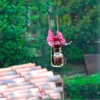 Mommy necklaces- How to make glass bottle fruit clay necklace