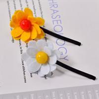 Beebeecraft tutorials on how to make a cute flower felt hair clip