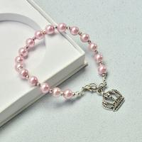 PandaHall Ideas on Making Crown Pearl Bracelet