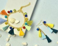 PandaHall Video Tutorial on Making Tassel jewelries
