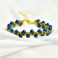 PandaHall Ideen zur Herstellung eines Retro Style Pearl Bracelet