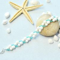 PandaHall-zelfstudie over mooie armband met Giant Clam Shell-kralen