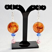 Beebeecraft Tutorials on How to Make a Pair of Acrylic Pearl Earrings