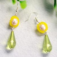 Beebeecraft Tutorials on Making Small Daisy Earrings