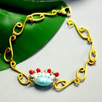 Beebeecraft Tutorials on Making Traditional Opera Style Bracelet