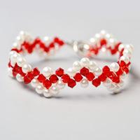 Beebeecraft Tutorials on How to Make Wave Beaded Bracelet