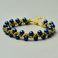 Beebeecraft Tutorials on how to make Ancient Pearl Beads Bacelet