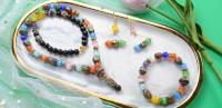 Beebeecraft Tutorials on Making Tibetan Beads Necklace