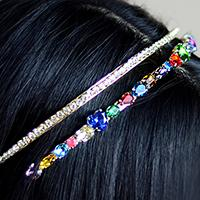 Beebeecraft Tutorial on How to Make Rhinestone Hairband