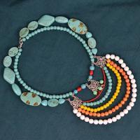 PandaHall Idea On Bohemian Style Multi-layer Necklace