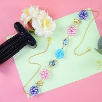 PandaHall Idea on Ball Shape Beaded Bracelet