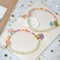 PandaHall Selected Tutorial on Pearl&Polymer Clay Beaded Bracelets