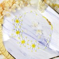 PandaHall Idea on Flower Shape Beaded Necklace
