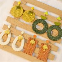 PandaHall Selected Idea on Colorful Earring Sets With Woven Pendants