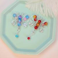 PandaHall Selected Tutorial on Butterfly Shaped Wire Wrapped Pendants