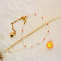 PandaHall Selected Tutorial on Flower Shape Beaded Bracelet