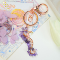 PandaHall Selected Tutorial on Wire Wrapped Sea Horse Shape Key Chain