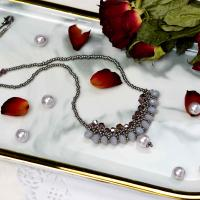 PandaHall Selected Tutorial on Glass Beaded Necklace