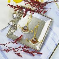 PandaHall Selected Idea on Winding Beaded Earrings