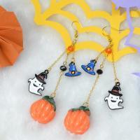 PandaHall Idea on Pumpkin Drop Earrings