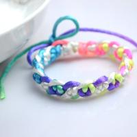 Handmade Mother's Day Gift Ideas- Double Snake Knotted Bracelet Patterns with String Instructions