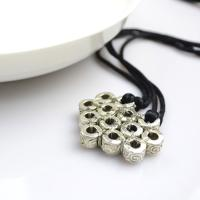Mother's Day Gifts Handmade in Heart Pattern- European Metal Bead Necklaces