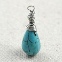 Messy Wire Wrapped Briolette Tutorial - Messy But Elegant