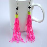Chic DIY and craft ideas-how to make diy tassel earrings